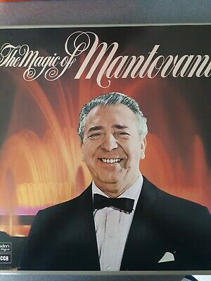 RECORD BOX-SET MANTOVANI THE MAGIC OF Fully Complete • 4£