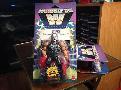 $36 • Buy 2020 Masters Of The WWE Universe Sting Cresed Corners