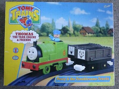 Tomy Trains Percy And The Troublesome Trucks • 25£