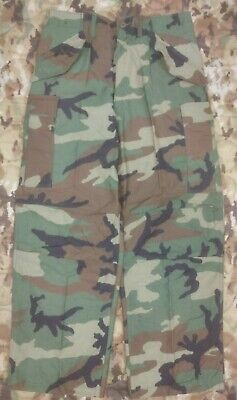$34.95 • Buy M65 Woodland Cold Weather Field Pants With Suspenders NOS USGI Small Reg