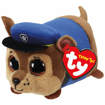 $ CDN12.60 • Buy Ty Beanie Boos Teeny Tys 4  Paw Patrol CHASE Stackable Plush Animal Toy MWMTs