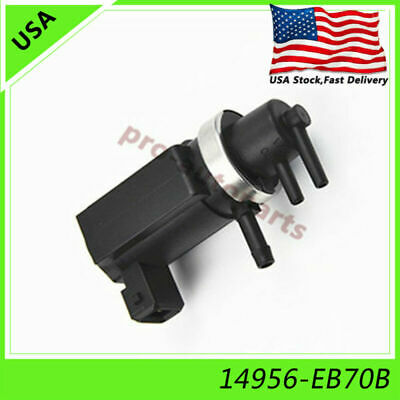 AU36.23 • Buy Vacuum Turbo Boost Solenoid 14956-EB70B For Nissan Navara D40 Pathfinder R51 2.5