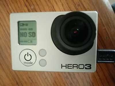 AU69 • Buy GoPro Hero 3 Black Sports Camera Incl Case, Handle, Mounts, Harness, Cables, Etc