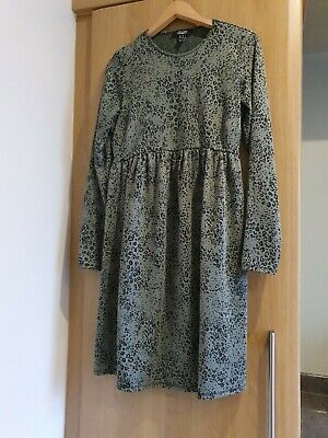 New Look Maternity Animal Print Dress. Size 10 • 5£