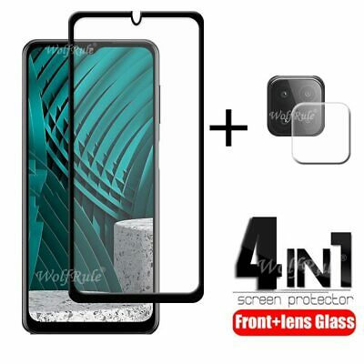 £6.57 • Buy 4-in-1 For Samsung Galaxy M12 Glass For Samsung M12 Tempered Glass Full Glue HD