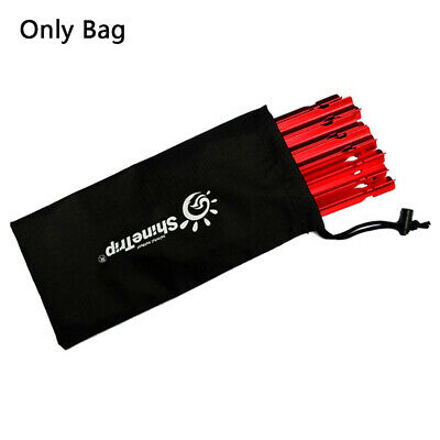 AU8.26 • Buy Tent Pegs Bag Camping Tent Accessories Hammer Wind Rope Tent Nail StorageEOB Ts