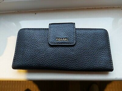Fossil Brown Leather Ladies Purse Wallet  • 3.90£