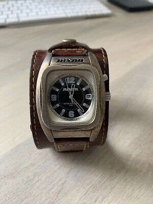 AU50 • Buy NIxon Rocker Watch With Brown Leather Band
