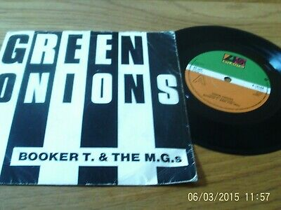 Booker T & The MGs - Green Onions / Bootleg -  7  Vinyl Atlantic  • 1£