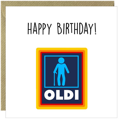 £2.99 • Buy Funny Happy Birthday Card Rude Friend Brother Dad Uncle Oldi Colleague Square /B