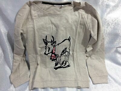 £8.99 • Buy Baby Reindeer With Scarf Christmas Jumper, Size 14