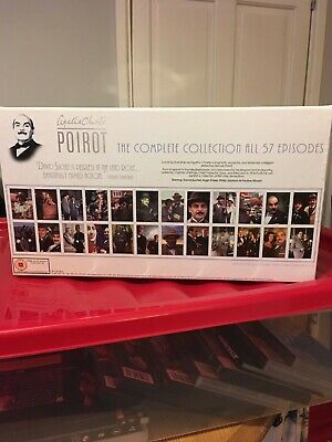 Poirot The Complete Collection DVD Box Set • 50£