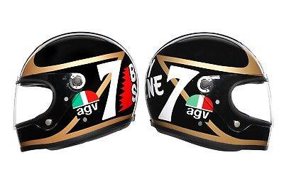 Agv X3000 Barry Sheene Replica Limited Edition Helmet New Ex-display Size M/s  • 289£