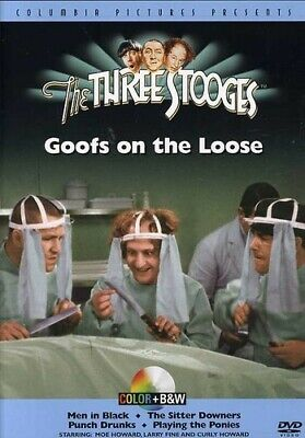 Three Stooges: Goofs On The Loose / New Dvd • 14.86£