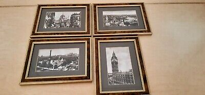 Photo Postcards Collection By Valentine & Sons 1860 Historic London Framed • 20£
