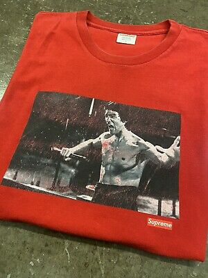 $ CDN189.33 • Buy Authentic Supreme Bruce Lee Enter The Dragon Red T-shirt Size Large