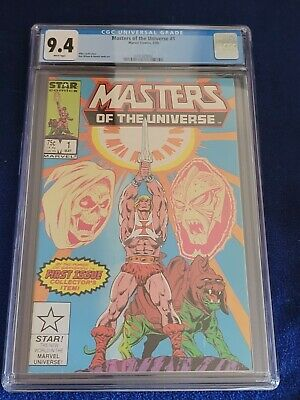 $79.99 • Buy MASTERS OF THE UNIVERSE #1, CGC NM 9.4, 1st Marvel Issue! WHITE Pages! (1986)