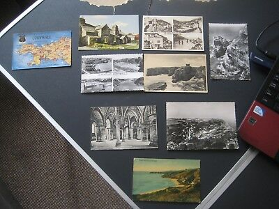 249. 9 X Postcards Of Mixed Places By Valentines & Sons Ltd • 7.50£