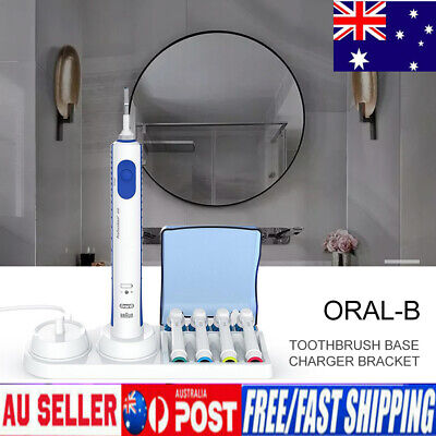 AU13.83 • Buy Braun Oral-B Electric Toothbrush Free Stand Charger Replacement Head Holder AU❤❤