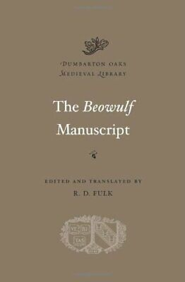 The Beowulf Manuscript (Dumbarton Oaks Medieval Library) New Hardcover Book • 29.10£