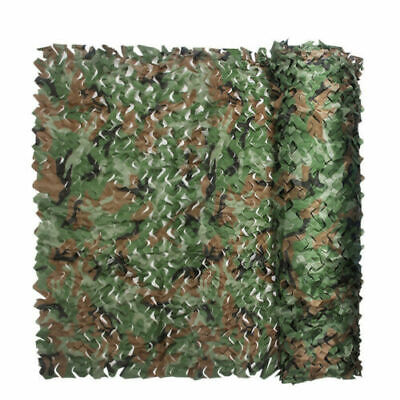 Oxford Fabric Camouflage Net/Camo Netting Hunting/Shooting Hide Army 5 Sizes • 9.99£