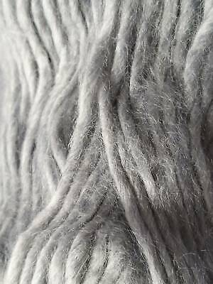 Soft Baby Grey Hand Knit Yarn FREE POSTAGE WORLDWIDE • 6.99£
