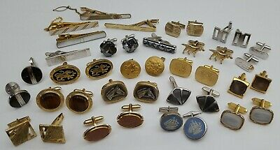 $ CDN67.30 • Buy Vintage Cufflinks Lot 23 Pieces Ox And Bull Shields Anson STERLING Hicock