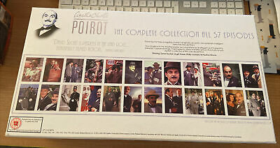 Agatha Christie's Poirot - The Complete Collection DVD, 2008, 24-Disc Box Set • 49.99£