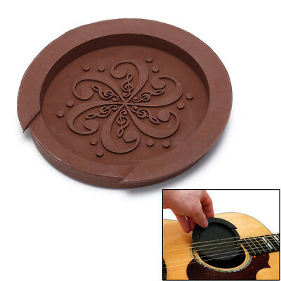 £3.29 • Buy AcousticGuitar Sound Hole Cover Rubber Screeching Halt Musicals Guitar AccesR_yk