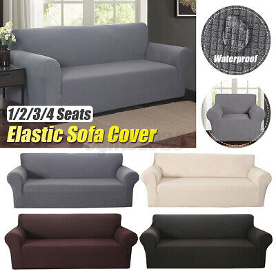 AU35.32 • Buy Stretch Sofa Covers Couch Lounge Recliners Slipcover Protector 1 2 3 4 Seater AU