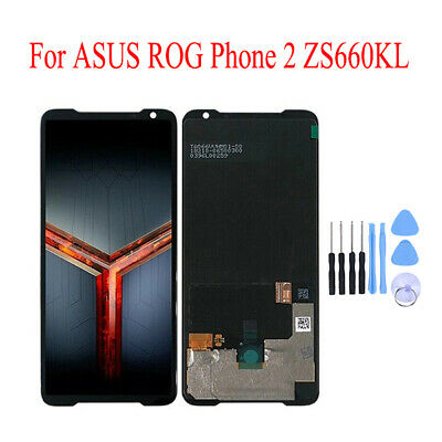 AU186.83 • Buy Original AMOLED Touch Screen Digitizer Frame For ASUS ROG Phone II 2 ZS660KL
