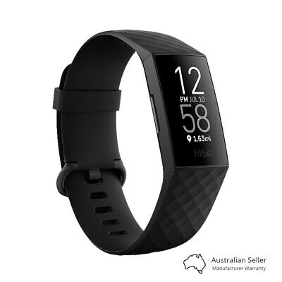 AU219.99 • Buy Fitbit Charge 4 Fitness Tracker - Black