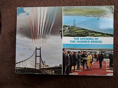 The Opening Of The Humber Bridge Postcard  • 2.50£
