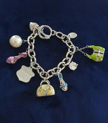 Juicy Couture Authentic Limoted Edition 2008 Edition Charm Bracelet • 20£
