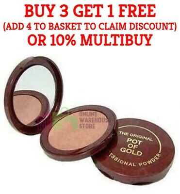 £3.95 • Buy The Original Pot Of Gold Professional Compact Powder With Mirror 10G.