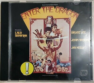 Enter The Dragon. Lalo Schifrin. Music From The Motion Picture. Cd • 15£
