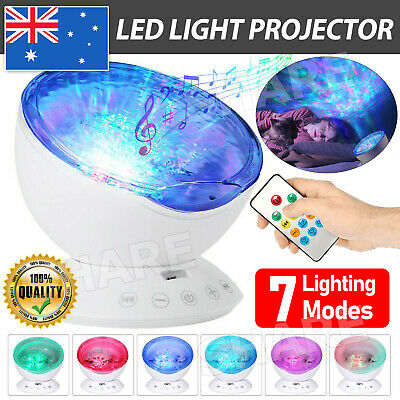 AU22.95 • Buy LED Night Light Projector Galaxy Starry Ocean Star Sky Baby Room Party Lamp Gift