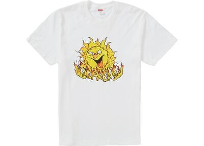 $ CDN65.93 • Buy Supreme NYC SUN Tee White Men's T-shirt SZ Large.  NWT In Bag