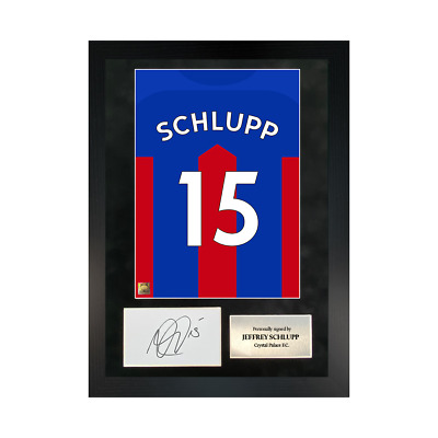 £109.99 • Buy Authentic Hand-signed A3 Frame Jeffrey Schlupp Palace Shirt Poster W/ COA