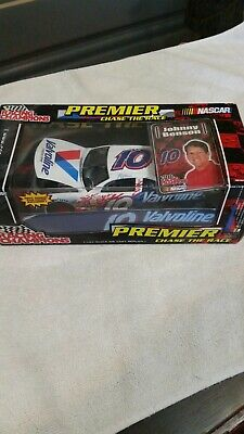 $15 • Buy Johnny Benson #10 2001 Valvoline Pontiac Chase The Race With Car Cover And Card