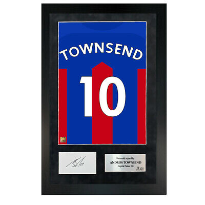 £139.99 • Buy Authentic Hand-Signed Premium Andros Townsend Palace Shirt Poster W/ COA