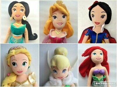 Disney Store Exclusive Princess Large Soft Plush Dolls - Select From Menu • 9.95£
