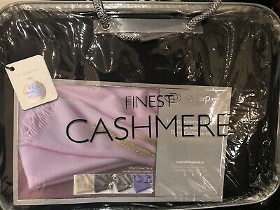 Olivier Pascal Cashmere Throw- Black • 25£