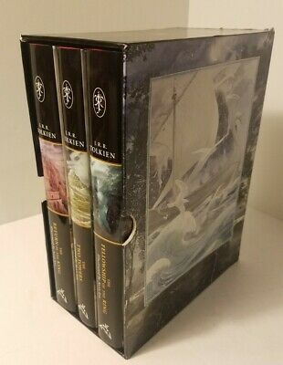 £353.99 • Buy SIGNED X3 The Lord Of The Rings By JRR Tolkien, Illustrated By Alan Lee Box Set