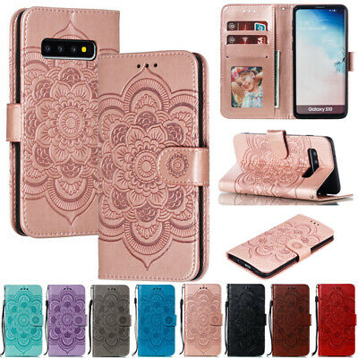 AU14.88 • Buy For Samsung S21 S20FE A31 A51 A42 Magnetic Leather Flip Wallet Stand Case Cover