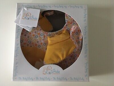 New Baby Gift - Bib And Booties -Yellow And Circle Pattern  - New Giftboxed • 4.50£