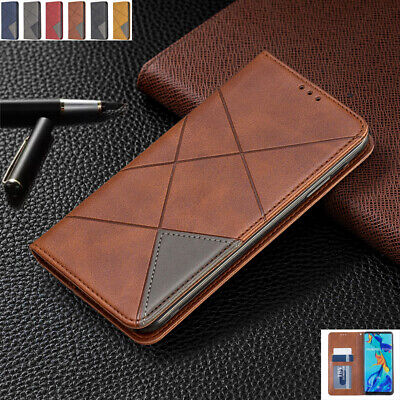 AU14.89 • Buy For Huawei P30 Mate30 Y7 Y9 Prime Magnetic Flip Leather Wallet Stand Case Cover