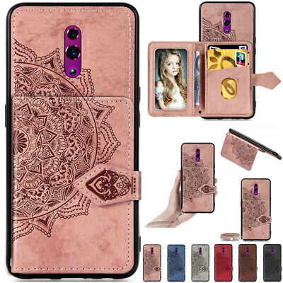 AU14.89 • Buy For OPPO A91 A52 A72 A5 A9 2020 Shockproof Leather Wallet Back Card Case Cover