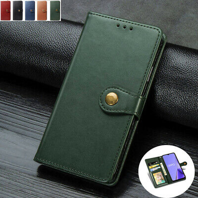 AU14.89 • Buy For OPPO A52 AX5S RenoZ A5 A9 2020 Magnetic Flip Leather Wallet Card Case Cover