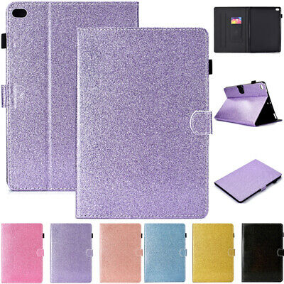 AU26.89 • Buy For IPad 5/6/7/8th Gen Air 4 Mini Bling Smart Magnetic Leather Wallet Case Cover